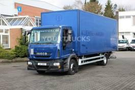 bakwagen vrachtwagen > 7.5 t Iveco Eurocargo ML120E22 EEV  Koffer 7,6m/Klima /LBW 2012
