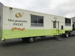 gesloten opbouw oplegger Netam-Fruehauf Foodtruck / Mobiel Cafetaria -Lunchroom / Food Truck (B/E... 1999