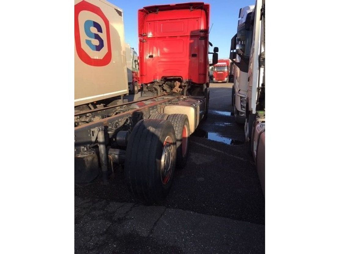chassis cabine vrachtwagen Scania SCANIA R620 2012