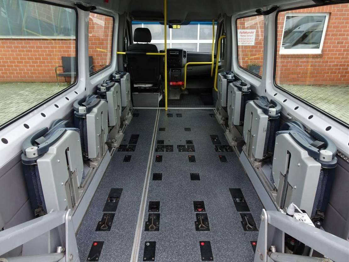overige bussen Mercedes Benz Sprinter 311 Cdi Flex-i-Trans Rollstuhllift 9 Sitz Euro 4 2008