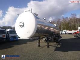 tankoplegger Maisonneuve Chemical tank inox 31.5 m3 / 1 comp / ADR 02/2020 1994