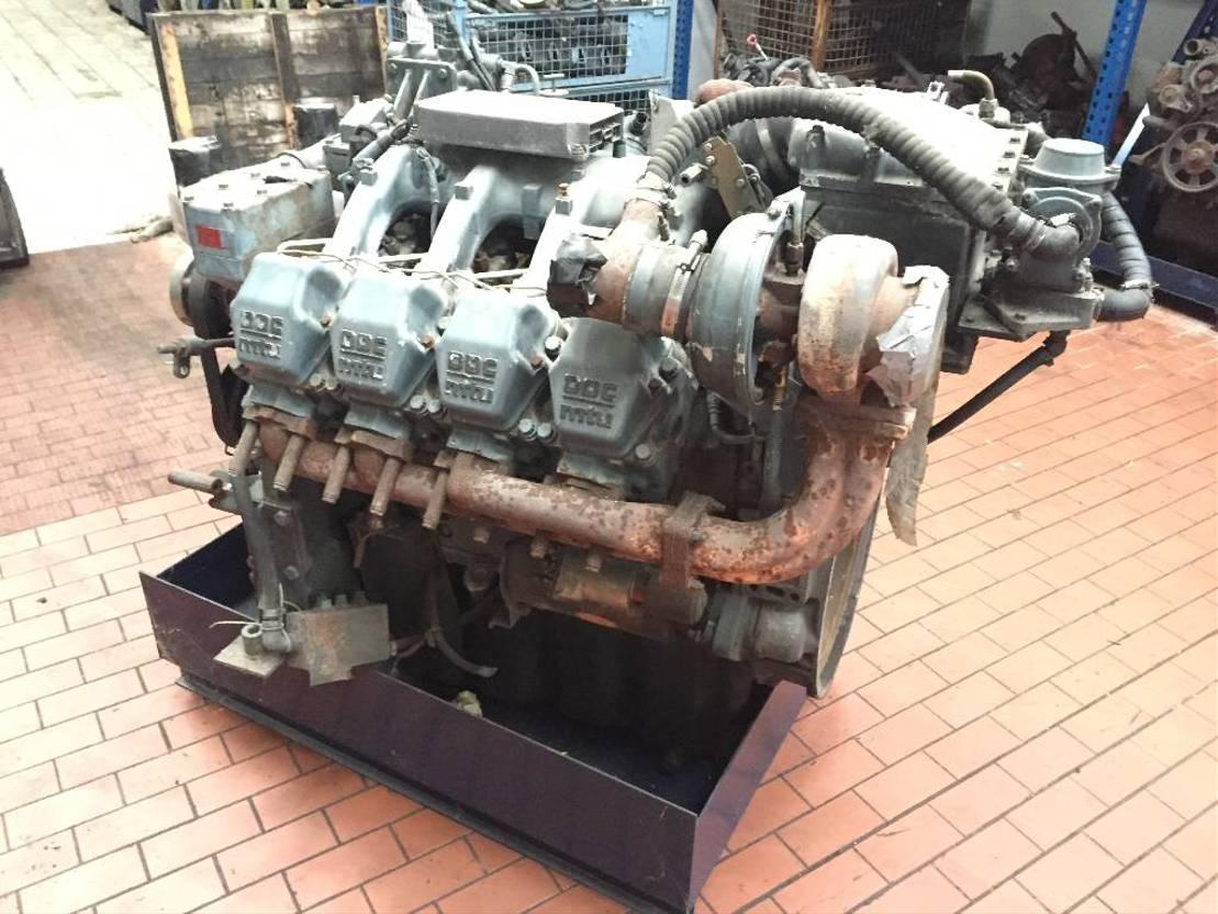 Motor vrachtwagen onderdeel Diversen Detroid Diesel MTU S2000 V8 / S 2000 V 8 LKW Motor