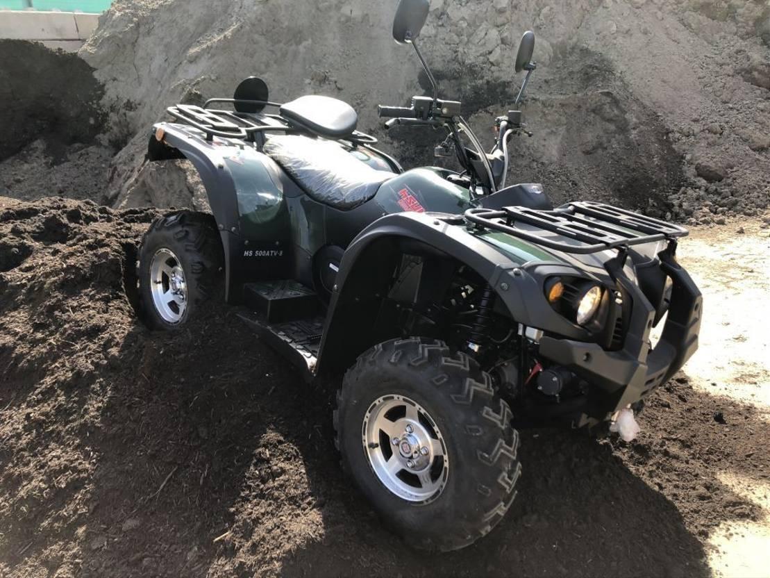quad DIV. Qaud ATV hi sun 500 4x4 automaat lier 2018