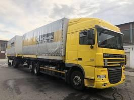 wissellaadbaksysteem vrachtwagen DAF Komplett Zug FAR XF105.460SC , Intarder, Top 2013
