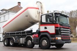 tankwagen vrachtwagen Scania R420 E4 Zement Silo 28.000l 8x4 2005