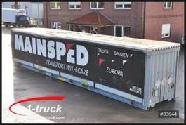 huifzeil wissellaadbak Krone WP 13,6 LS4, Container, 45 Fuss, Bordwand 2012