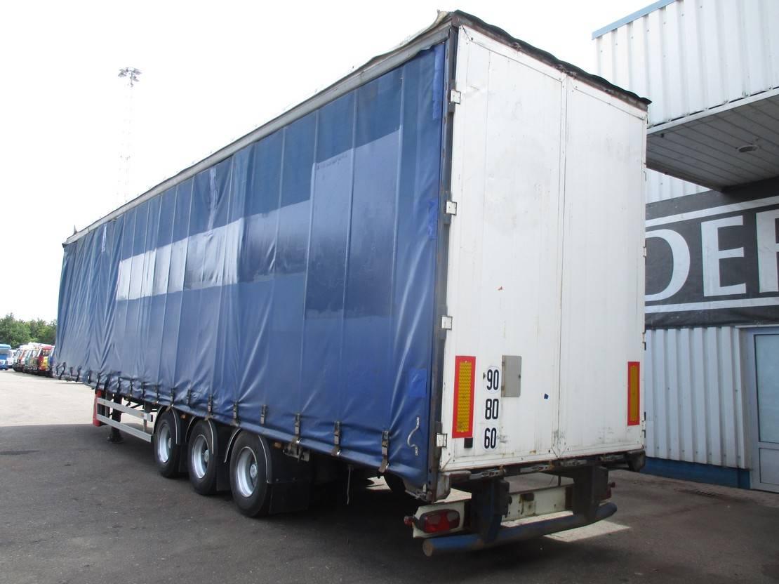 huifzeil oplegger General Trailers GT , 3 axle, Air suspension , Disc brakes 2005
