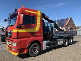 containersysteem vrachtwagen MAN TGX 28.480 6X2 Tipper with crane APK/TUV tot 11-2020 2009