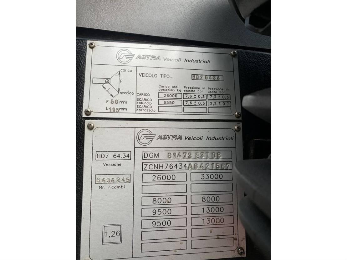 betonpomp vrachtwagen Astra Autobomba de hormigón Putzmeister Bsf 35.5 2000
