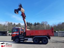 kipper vrachtwagen > 7.5 t MAN TGA 26.430 H47 6x6 kipper met Palfinger PK16002 year 2010 2006