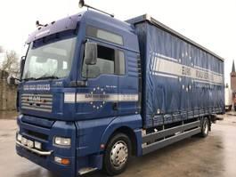schuifzeil vrachtwagen MAN TGA 18.350 XXL **TOPSHAPE-8.10BOX** 2004
