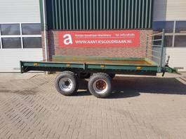 platte aanhanger vrachtwagen Bakkenwagen