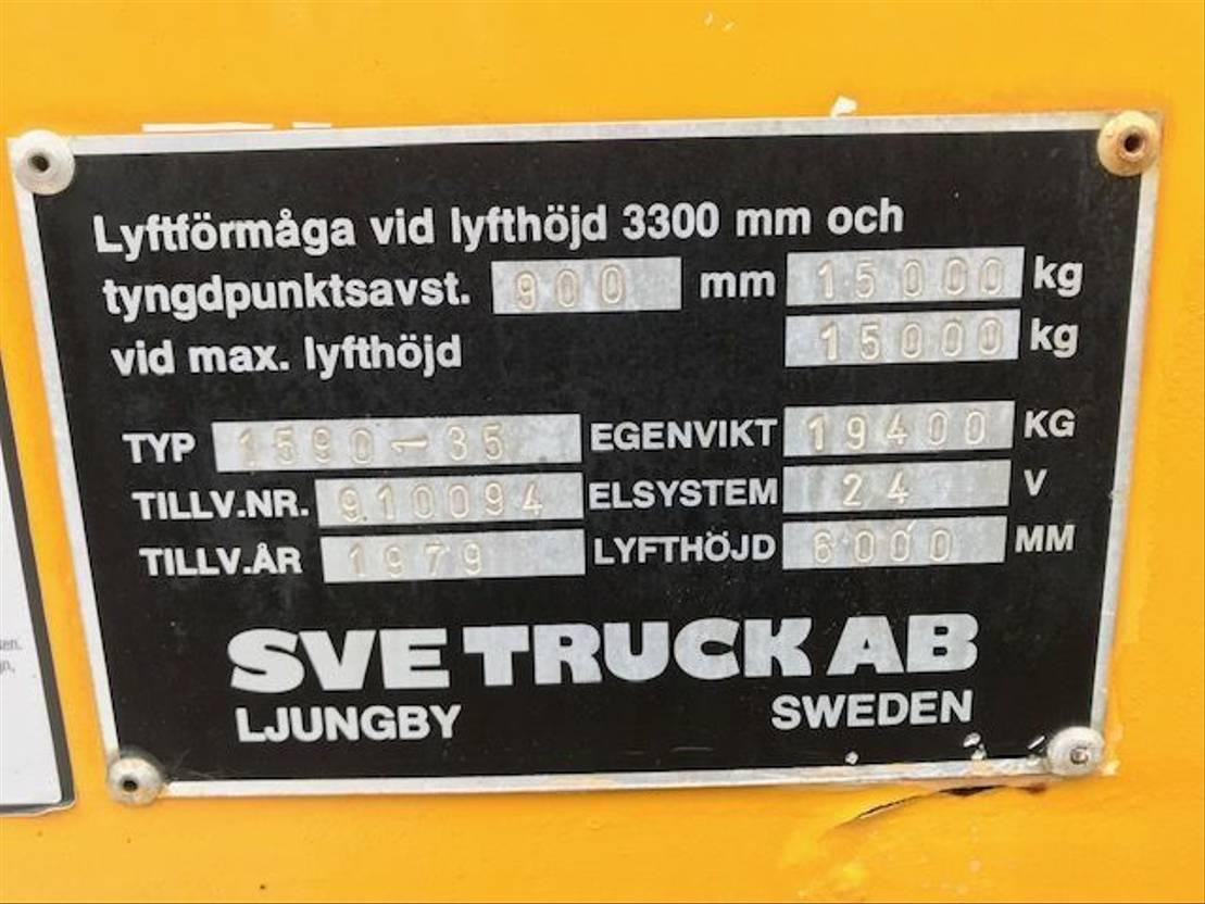vorkheftruck Svetruck 1590-35 1979