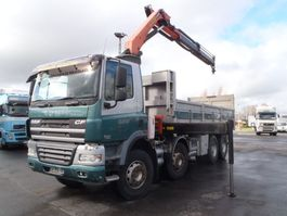 kipper vrachtwagen > 7.5 t DAF cf85.410 8x4 kipper   kraan 2008