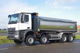 kipper vrachtwagen > 7.5 t Mercedes-Benz Arocs 4145-K 8x4 - Euro 6 - 20m3 VS-Mont Isolated Tipper - HYVA Cover - NEW
