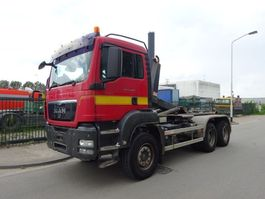 containersysteem vrachtwagen MAN TGS 33.400 6 X 4 !! EURO 5 !! MANUAL GEARBOX !! 2010