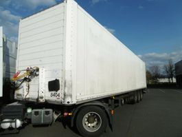 gesloten opbouw oplegger Schmitz Cargobull SKO 24 ISO Koffer Lift, LBW