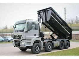 containersysteem vrachtwagen MAN TGS 41470 8X4 Mulden-Kipper 18m 2020