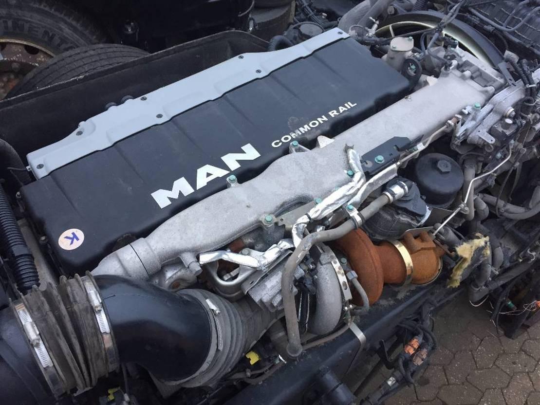 Motor vrachtwagen onderdeel MAN D2676LF47 / D2676LF25 / D 2676 LF 47 Euro 6 2015