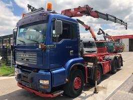 containersysteem vrachtwagen MAN TGA 35.480 HMF 2223K4 MET 3XZIJDIG KABEL 2004