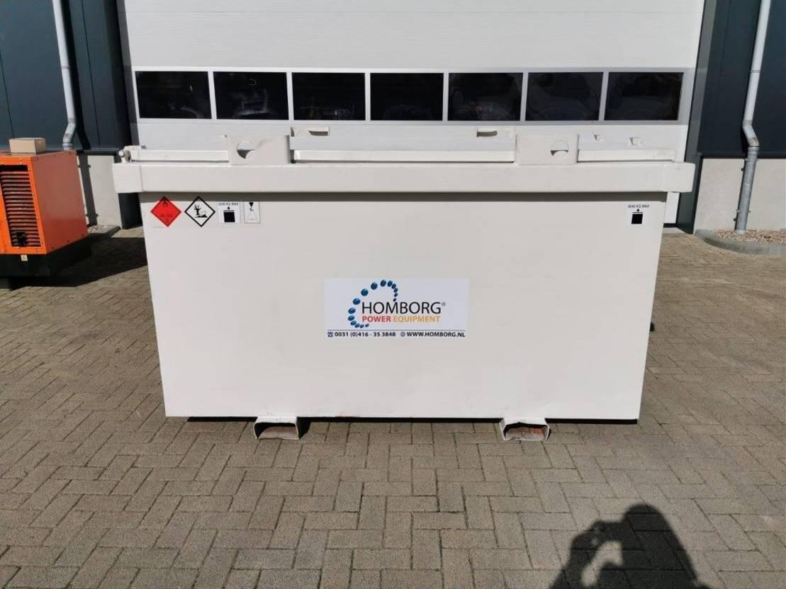 IBC-intermediate bulk container Kiwa IBC Steenbergen 3000 liter diesel tank met keuring ! 2005