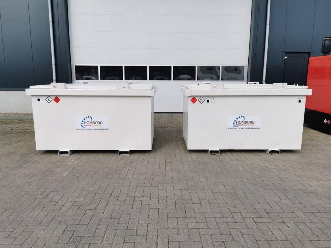 IBC-intermediate bulk container Kiwa IBC Steenbergen 3000 liter diesel tank met keuring ! 2003