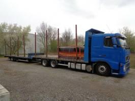 houttransporter vrachtwagen Volvo FH  460  -   6 x 2  mit Hänger 2003