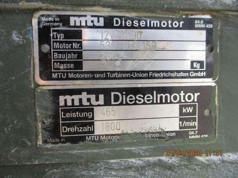 MTU - V 12 2000 PK 6