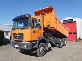 kipper vrachtwagen > 7.5 t MAN 33.364 DFAK 6x6 Manual 2001