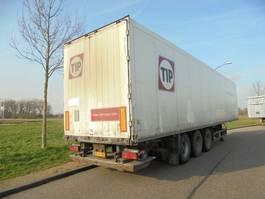 gesloten opbouw oplegger Schmitz Cargobull 3-as box / 2,5 ton laadklep / NIEUWE APK! 2008