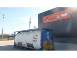 tankcontainer Van Hool 25.000L TC, 2 comp.(12.500L/12.500L), UN PORTABLE, T11, valid 5y insp. 0... 1996