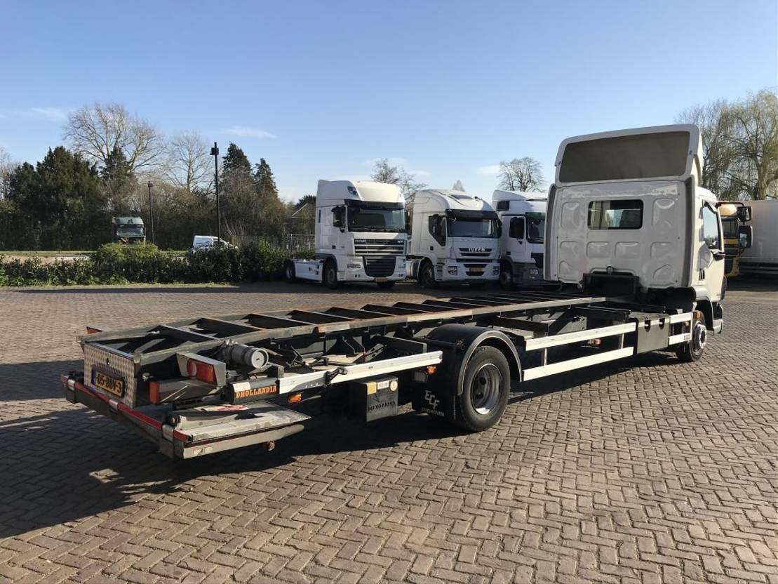 wissellaadbaksysteem vrachtwagen DAF FA LF 45.12.220 EURO 5 EEV 2013