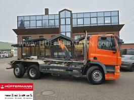 containersysteem vrachtwagen DAF CF 85.410T 6x2 E5 Ellermann HL 26.65 SK LenkLift 2008