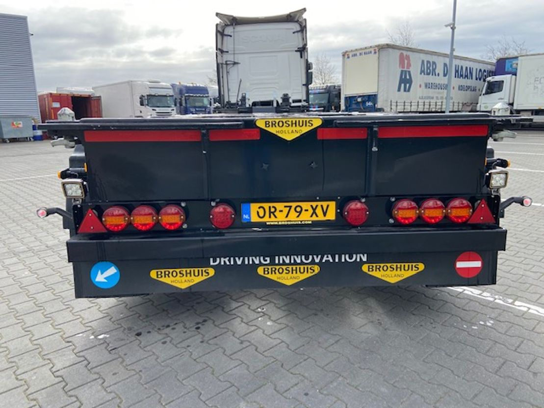 container chassis oplegger Broshuis MFCC NEW GENERATION 2019