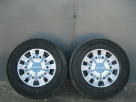 Wiel vrachtwagen onderdeel MAN Alufelga Koło Michelin 385/55 R 22,5