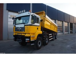 kipper vrachtwagen > 7.5 t MAN TGA 41.440 8x8 Vossebelt 19m3 2007