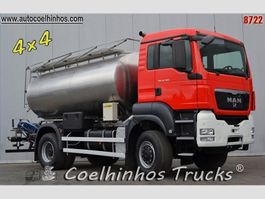 tankwagen vrachtwagen MAN 18.360 TGS // 4x4 2011