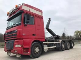 containersysteem vrachtwagen DAF FAK   XF480   8x2 2005