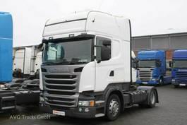 mega-volume trekker Scania R 450 SCR Only! Topline Standklima 2 x Tank 2015