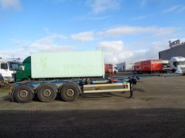 container chassis oplegger Van Hool FS 31-27 + 3 AXLE-20-30-40-45 foot 2005