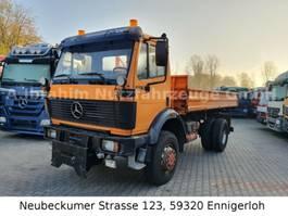 kipper vrachtwagen > 7.5 t Mercedes Benz DB 1729 4x4 Kipper, Blatt Blatt