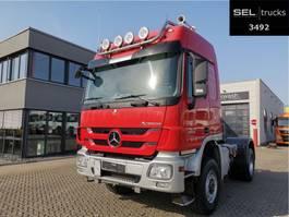 standaard trekker Mercedes Benz Actros 2044 4x4 / Kipphydraulik / PTO / German 2012