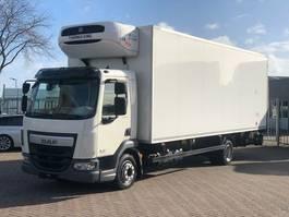 koelwagen vrachtwagen DAF *2016* LF 220 FA Kiesling Thermo King koellaadbak aanhanger 2016