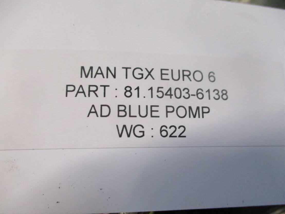 brandstof systeem bedrijfswagen onderdeel MAN 81.15403-6138 ad blue pomp