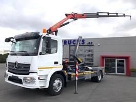 containersysteem vrachtwagen Mercedes Benz ATEGO