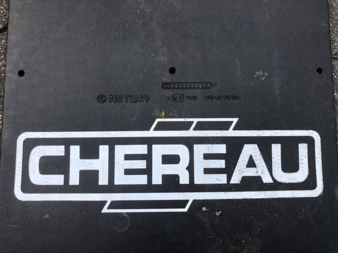 Opbouw vrachtwagen onderdeel Chereau CHEREAU HERTOGHS SPATLAPPEN