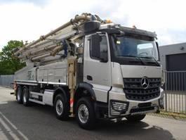 betonpomp vrachtwagen Mercedes Benz AROCS 4151 8X4 - CONCRETE PUMP SERMAC 5RZ51 - NL KENTEKEN 2017