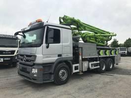 betonpomp vrachtwagen Mercedes Benz 2632 Putzmeister 24m- BSF24-4.11 HLS 2014
