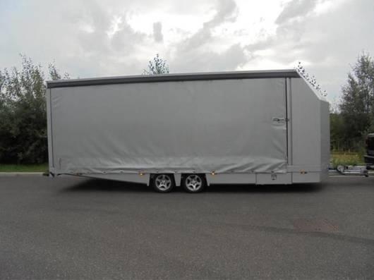 autotransporter aanhangwagen Tijhof TA35-ANN-Sport m. huif 2016