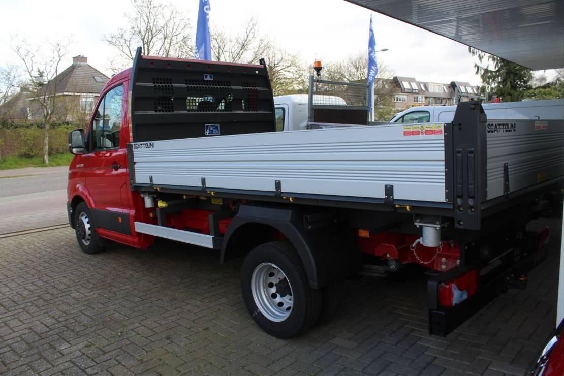 kipper vrachtwagen > 7.5 t MAN MAN TGE 5.180  3 ZIJDIGE KIPPER 2018